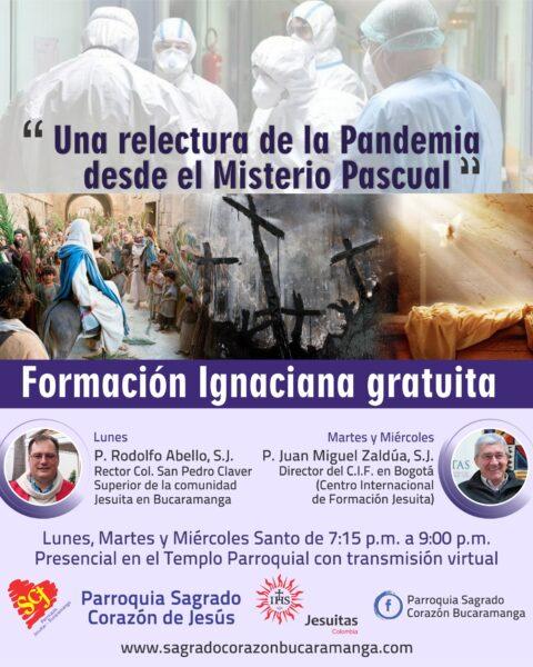 Formación Ignaciana Semana Santa 2021